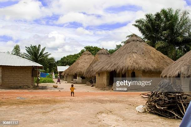 small village in sierra leone - sierra leone stock pictures, royalty-free photos & images