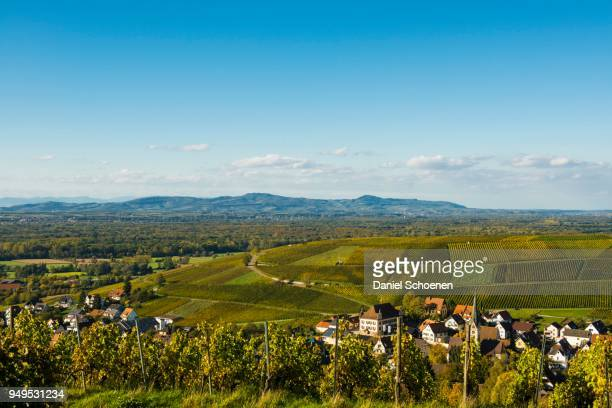 Small village in the vineyards, Ebringen, Markgraeflerland, Black Forest, Baden-Wuerttemberg, Germany