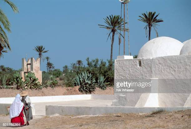 small village mosque - djerba stock pictures, royalty-free photos & images