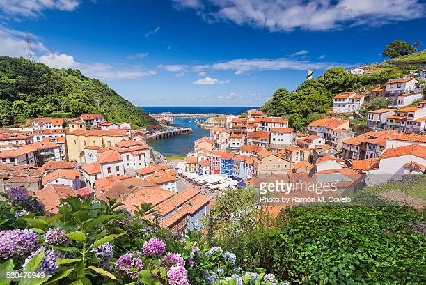 small village - asturias stock pictures, royalty-free photos & images