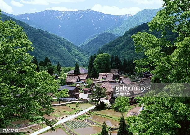 small village - 里山 ストックフォトと画像