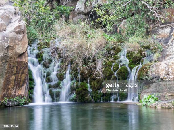 Small waterfall at Lourie Trail, Blyde River Canyon, Sabie, Mpumalanga, South Africa