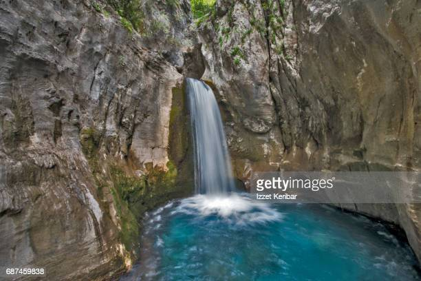 Small waterfall at Sapa rivar Alanya, Antalya - Turkey