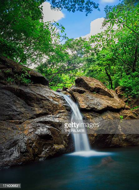 small waterfall in costa rica