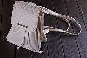 http://www.istockphoto.com/photo/small-white-leather-female-backpack-gm826638854-134427999