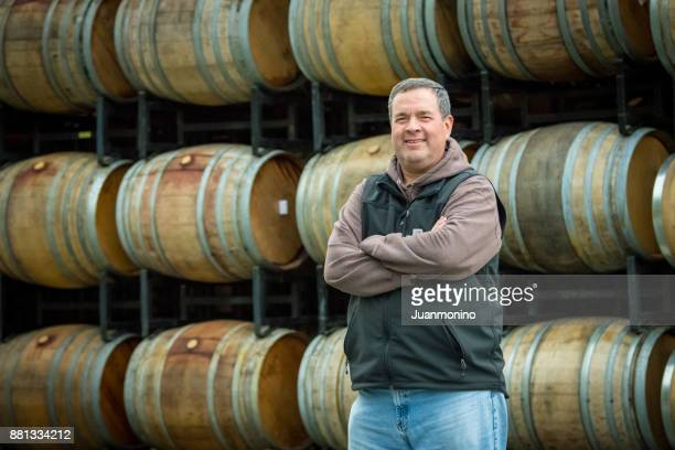 Small winery owner