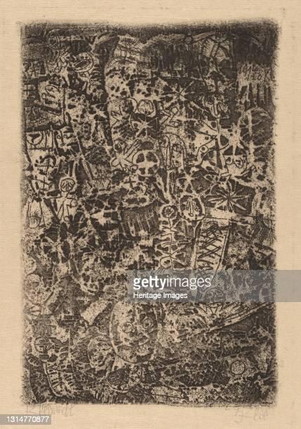 Small World , 1914. Artist Paul Klee.