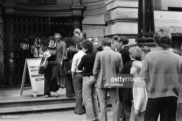 Smallpox Outbreak Birmingham 1978 Janet Parker a British medical photographer became the last person to die from smallpox She was accidentally...