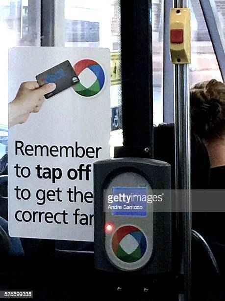 Smart Card ticket use for Sydney Australia commuters for paying their public transport ticket fares