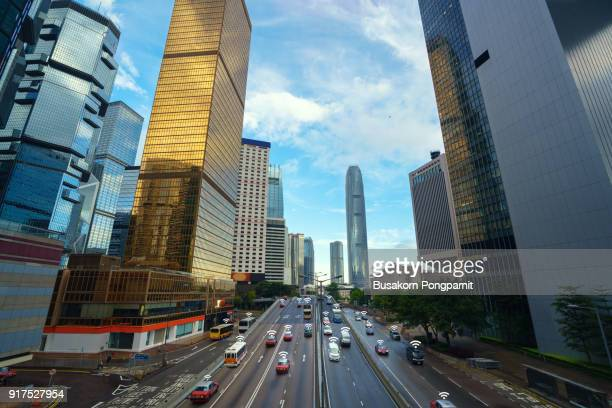 smart city traffic wireless communication network internet of things - isometric projection stock photos and pictures
