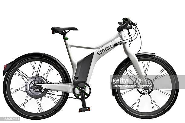 A Smart ebike electric bicycle photographed during a studio shoot for Official Windows Magazine February 11 2013