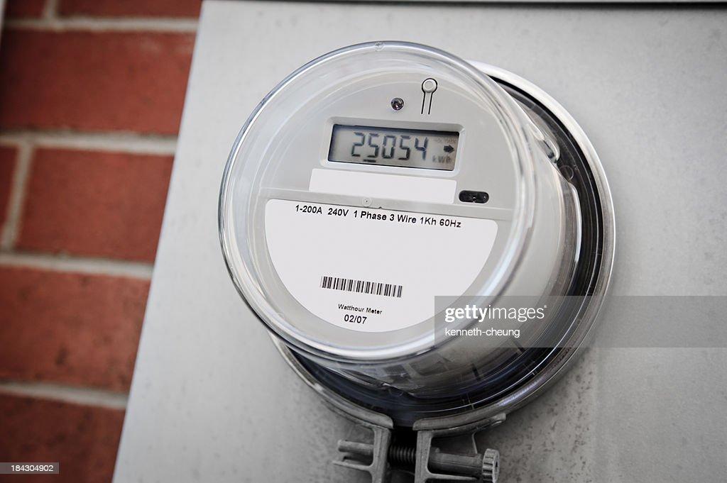 Smart Energy Meter : Stock Photo