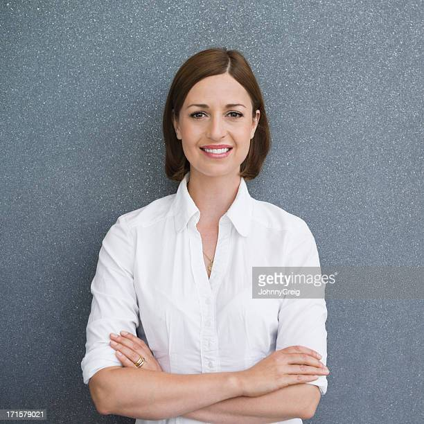 smart female professional - waist up stock pictures, royalty-free photos & images