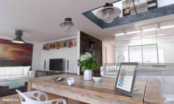 Smart Home Control mit Tablet