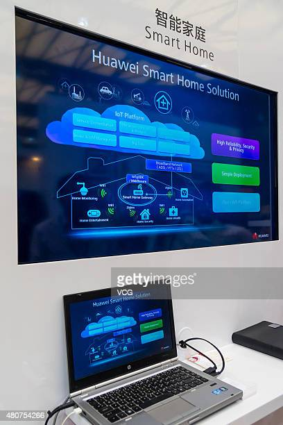 Smart Home on the 2015 Mobile World Congress Conference on July 15 2015 in Shanghai China The 2015 Mobile World Congress Conference programme themed...