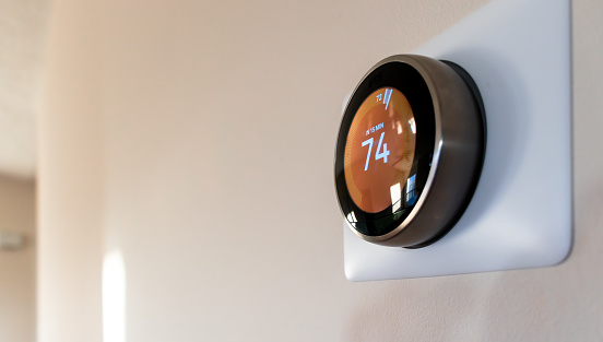 Smart Home Thermostat 1124228019