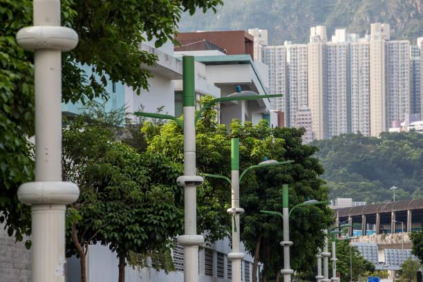 CHN: Smart Lampposts In Hong Kong