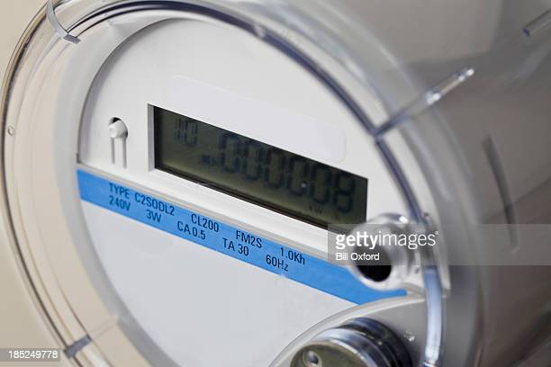 smart meter - electrical - intelligence stock pictures, royalty-free photos & images