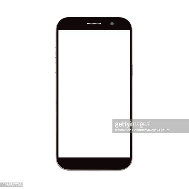 smart phone against white background - smart phone stock pictures, royalty-free photos & images