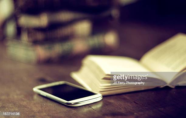 Smart phone and book