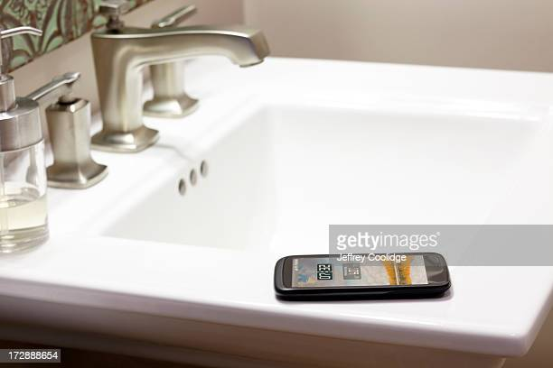 Smart Phone Bathroom Sink