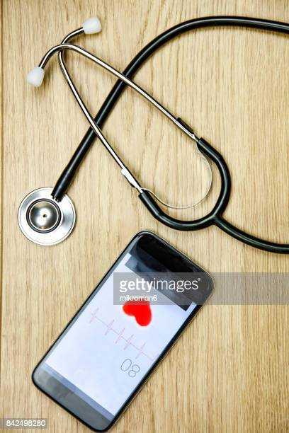 Smart Phone Doctor.  Medical concept