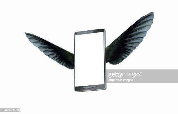 Smart phone flying