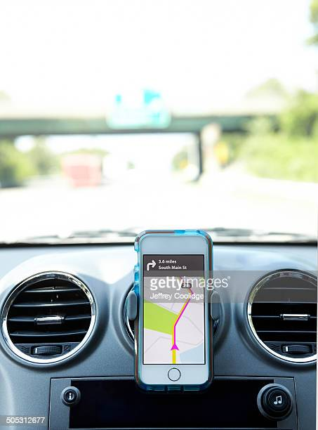 Smart Phone is Car with Directions