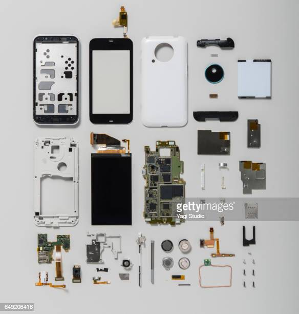 Smart phone knolling style
