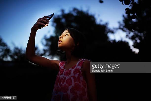 Smart phone night light