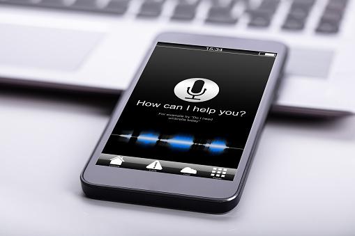 Smart Phone On Desk 1029428126