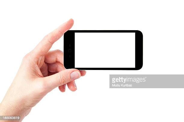 smart phone - phone icon stock pictures, royalty-free photos & images