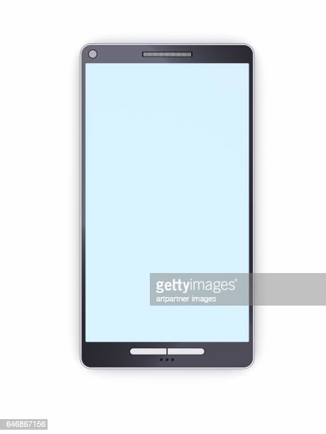 Smart phone with empty display