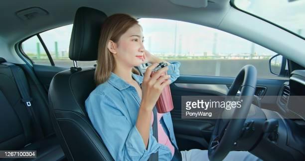 スマート自動運転車コンセプト - 自動化 ストックフォトと画像