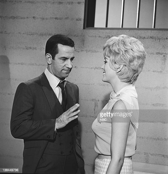 GET SMART Smart the Assassin Episode 22 Aired 02/19/66 Pictured Don Adams as Maxwell Smart Agent 86 Eileen O'Neill KAOS Agent