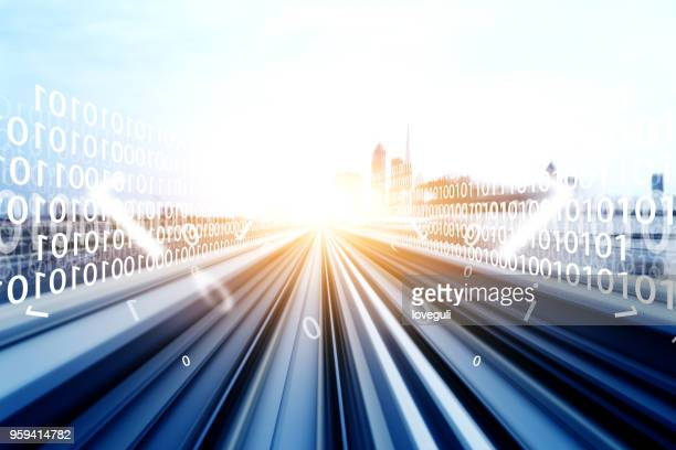 smart traffic - rail transportation stock pictures, royalty-free photos & images