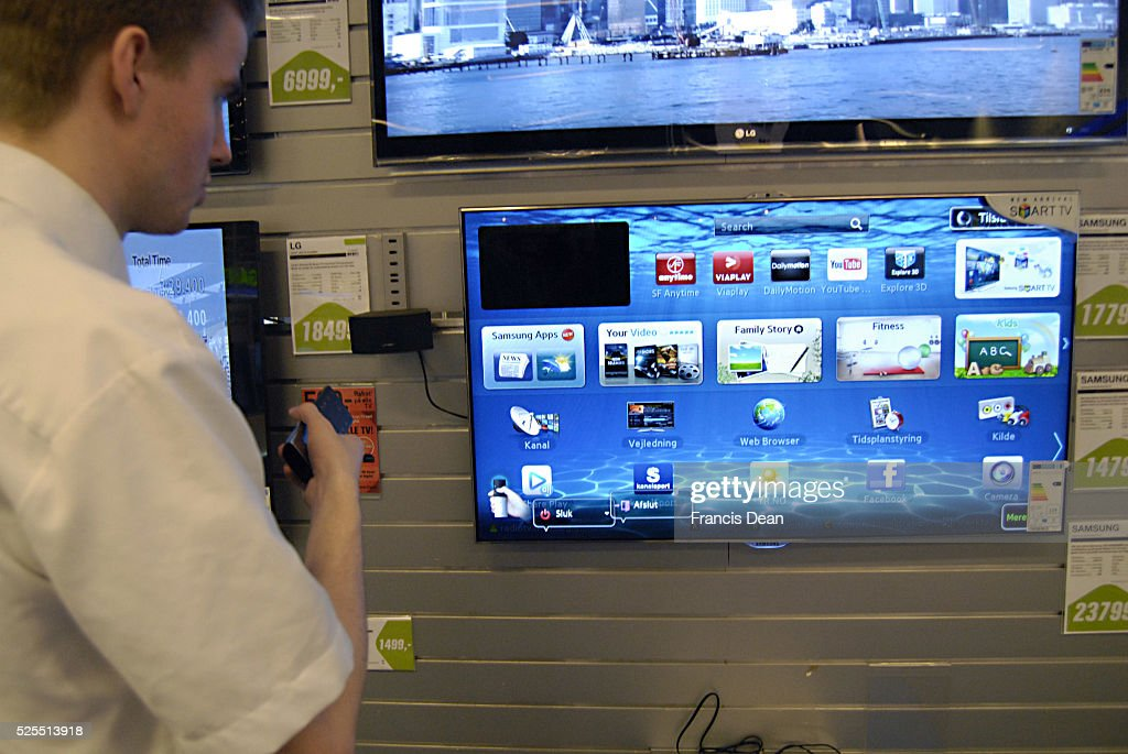 Smart Tv withe internety browser from Samsung and LG