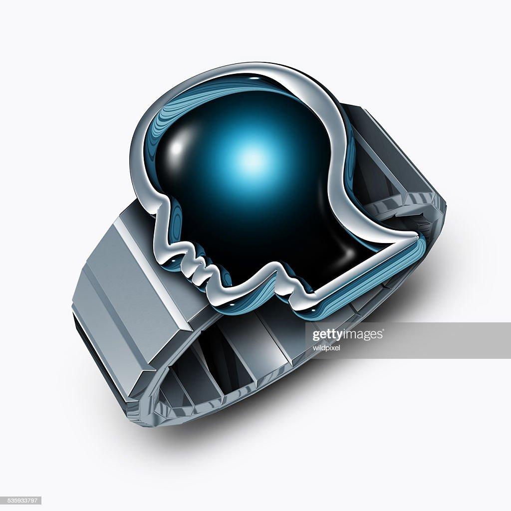 Smart Watch Concept : Stock Photo