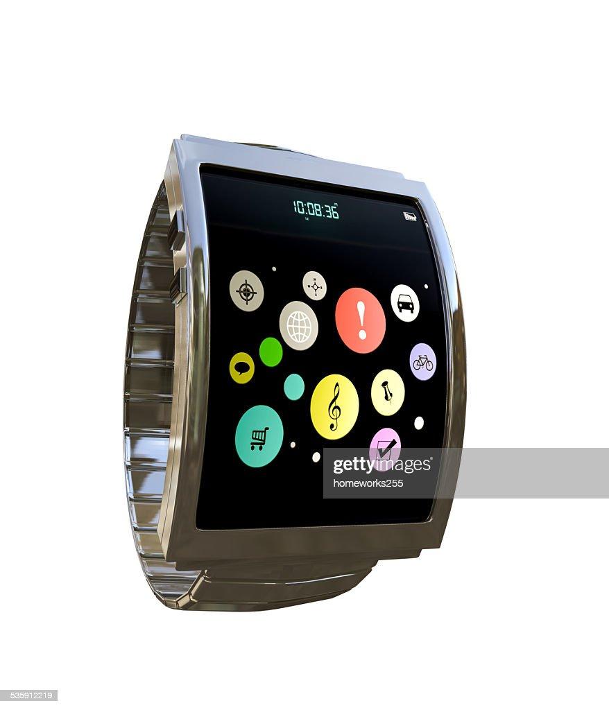 smart watch : Stock Photo