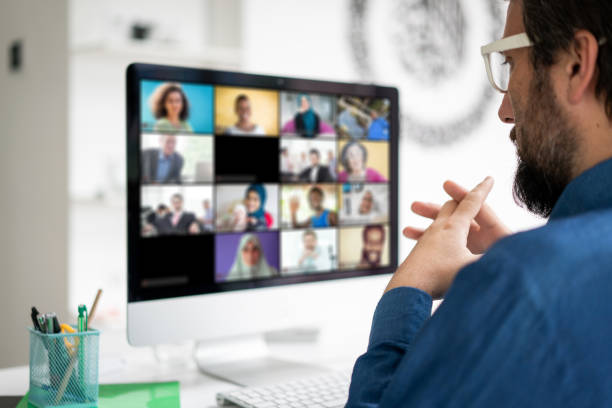 smart working and video conference picture
