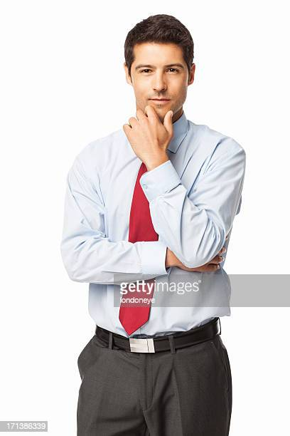 Smart Young Businessman - Isolated