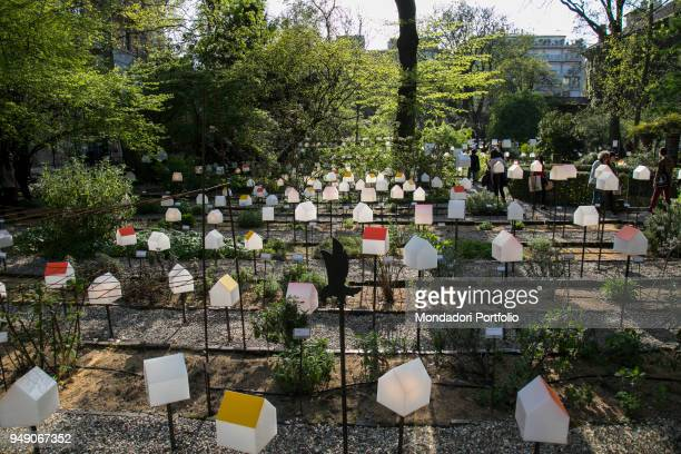 SmarTown Installation by Mario Cucinella Architects and SOSSchool of Sustainability at Brera Botanical Garden for Fuorisalone This work of art is...
