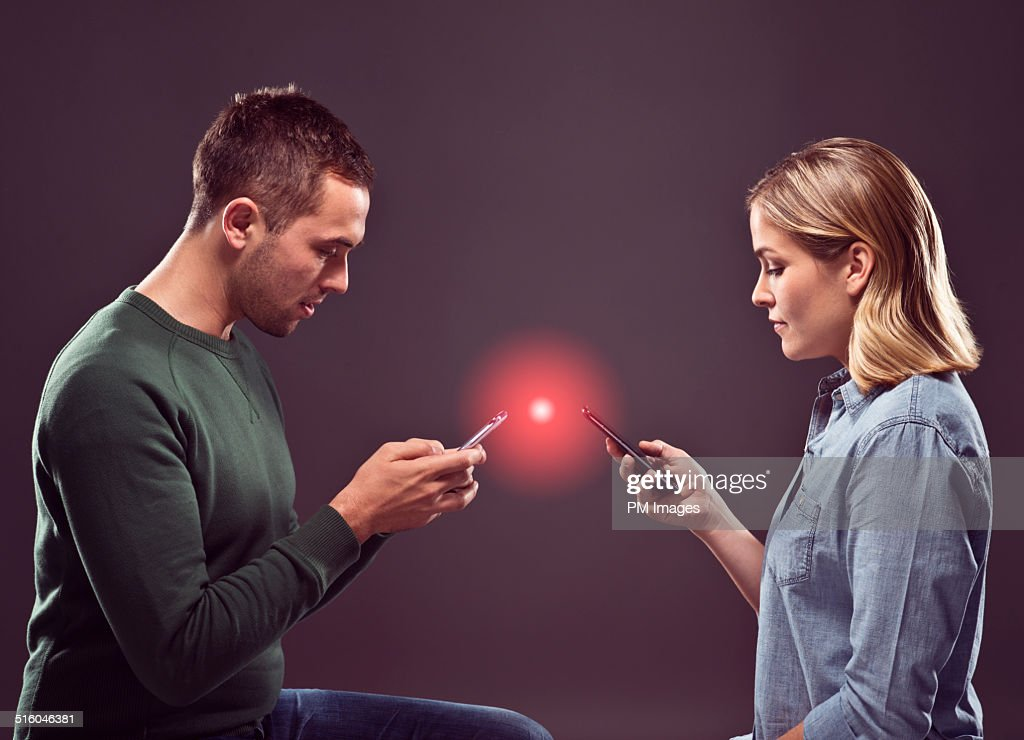 Smartphone Connection : Stock Photo