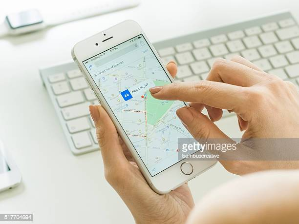 Smartphone Mapping While in Office