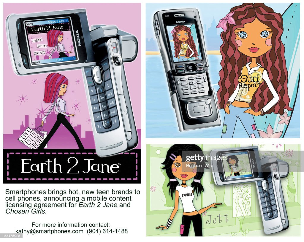 Smartphones Targets Teen Girls With Earth 2 Jane Agreement Photos