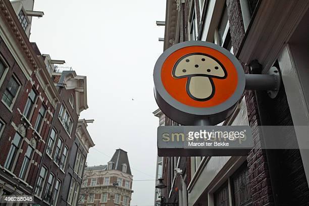 Smartshop sign in Amsterdam