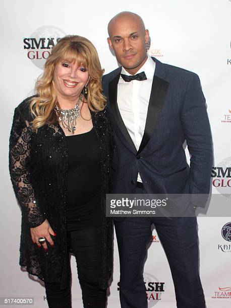 Smash Global EVP Jackie Kallen and Smash Global founder Steve Orosco attend Smash Global II at Taglyan Complex on March 24 2016 in Los Angeles...