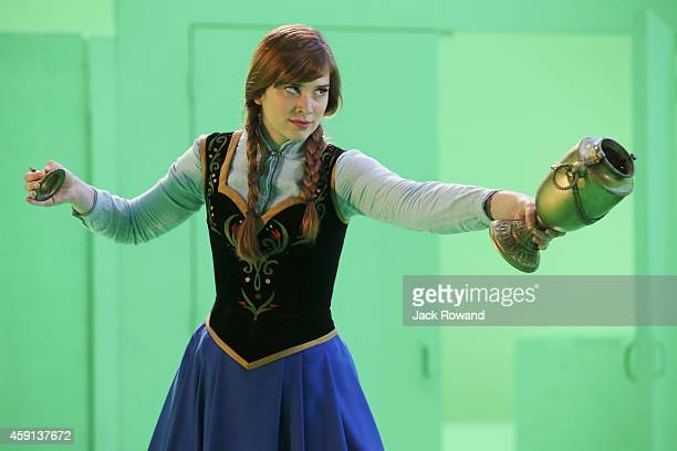 """Smash the Mirror"""" - In Arendelle, when the Snow Queen tries to pit Elsa and Anna against each other and it proves more difficult than she..."""