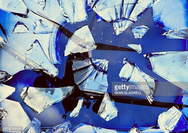 smashed glass and airplane - airplane crash stock pictures, royalty-free photos & images