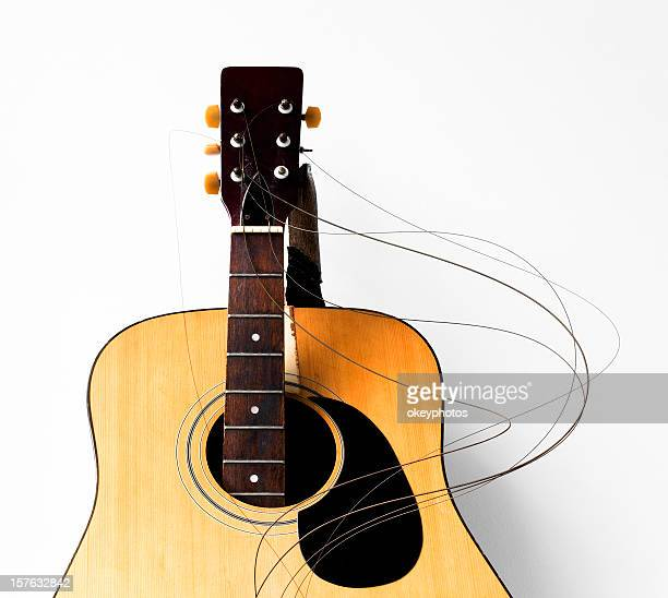 smashed guitar - stringed instrument stock pictures, royalty-free photos & images